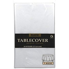 TableCover-Round/Clear