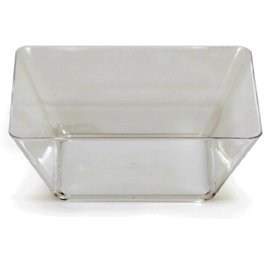 Square Bowls - Clear
