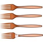 Forks-Premium-Jet Brown-Box/100pkg-Plastic