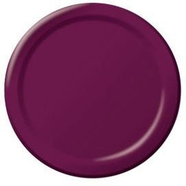 Paper Plates 20pc Berry 9""