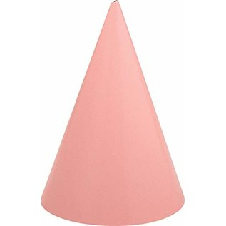 Hats - Cone party hat - pink - 12 pk.