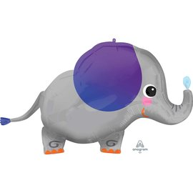 Foil Balloon - Super Shape - Elephant -34''