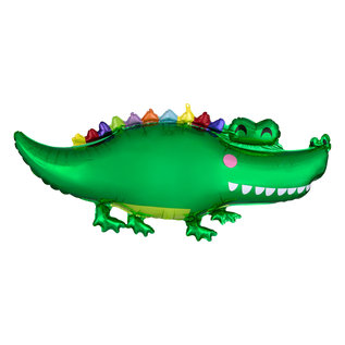 Foil Balloon - Happy Gator - Super shape 42""