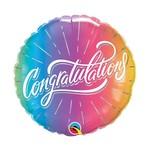 """Foil Balloon - Congratulations - 18"""""""