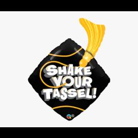 """Foil Balloon - Shake Your Tassel! (37"""") - 1pk"""
