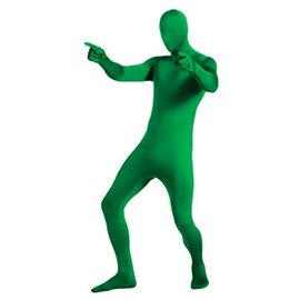 Costume-2nd Skin-Green-Adult Large