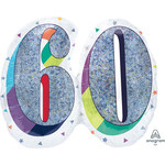 Balloons-Supershape-Holographic Age 60