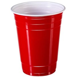 Cups - Solo Plastic Red - 50PK