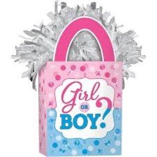 Balloon Weight - Girl or Boy