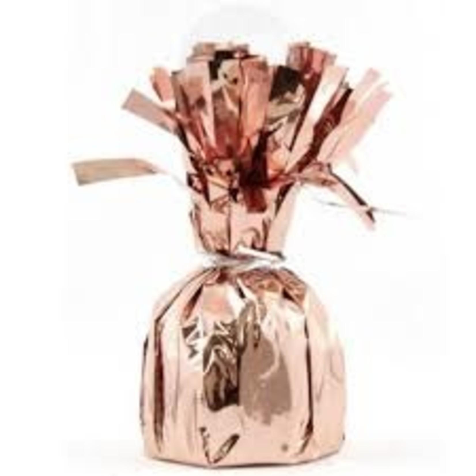 Balloon Weight-Foil-rose gold
