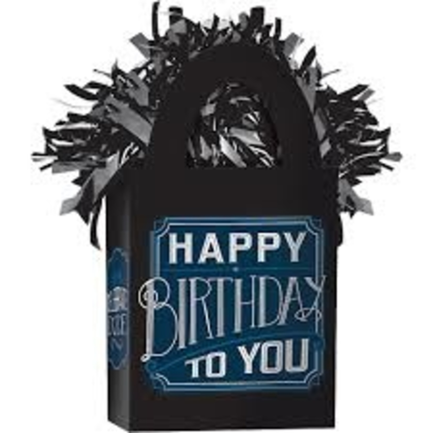 Balloon Weight - happy birthday