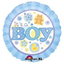 "Foil Balloon - Its a Boy - 18"""