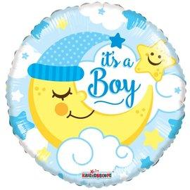 Foil-Its a Boy/Moon