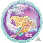 """Foil Balloon - Mermaid Barbie - 18"""" - 1pk"""