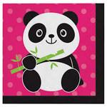 Beverage Napkins-Panda- 16pk- 2ply