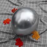 Latex Balloon - Silver - Chrome - 6pk