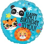 Foil Balloon - Happy Birthday To You - Jungle