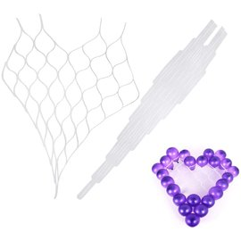Balloon Holder - Heart Shape Grid