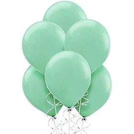 """Latex Balloons - Mint - 50pkg - 5"""""""