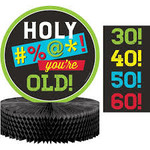 Centerpiece-Age Humor-9 In-1 Count