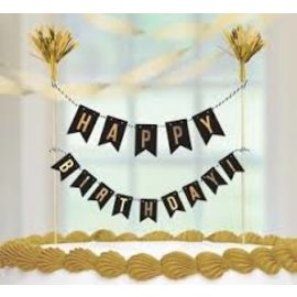 Cake Pickis- Happy Birthday- 1pc