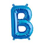 Foil Balloon - Super Shape -  Letter B - Blue