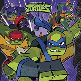 Napkins - LN - Ninja Turtles -  16pk - 2ply