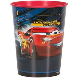 Cups - Plastic - Cars 3 - 16oz