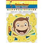 Banner - Curious George - 6.5ft - 1pc