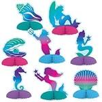 Centerpiece - Mini - Mermaid - 8pcs