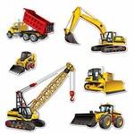 Cutouts - Construction  Equipments - 6pcs