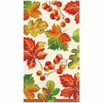 Guest Towel - Berries & Leaves Fall - 16 CT