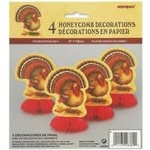Honeycomb Decorations - Turkey - 4CT