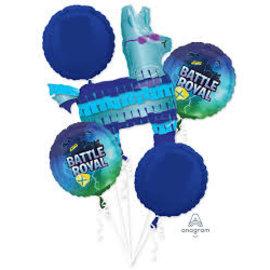 Foil Balloon - Battle Royal - 5pk Bouquet