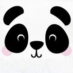 Napkins - LN - Panda Animal Faces - 16pkg - 2ply