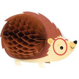 "Centerpiece - Hedgehog Party - 9.25"" x 6.25 - 1pc"