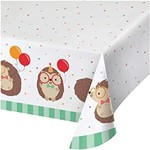 """Tablecover - Hedgehog Party - 54"""" x 102"""" - 1pc"""