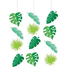 "Hanging Cutouts - Animal Faces - 36"" - 3pcs"