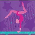 Napkins - BEV - Gymnastic Party - 16pk - 2ply