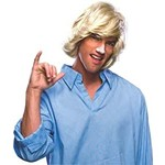 wig - Surfer Dude - One Size - 1pc