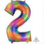 Foil Balloon- Rainbow Splash- #2