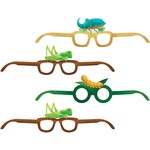 Glasses Paper - Birthday Bugs - 4 pcs