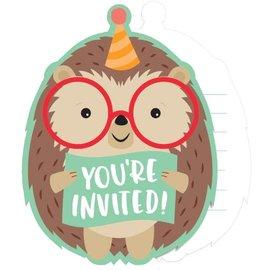 Invitations - Hedgehog Party - 8pkg