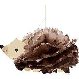 "Centerpiece - Hedgehog Party - 21"" x18"" - 1pc"