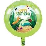"Foil Balloon - Birthday Bugs - 18"""