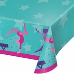 """Tablecover - Paper - Gymnastics Party - 54"""" x 102"""" - 1pc"""