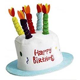 Hat - Birthday Cake Top - 1pc