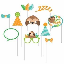Photo Props - Sloth Party - 10pcs