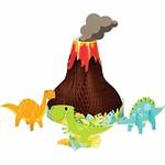Centerpiece - Boy Dino Party - 4pcs