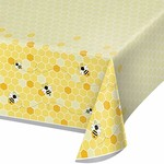 """Tablecover - Bumblebee Baby - 54""""x102"""" - 1pc"""